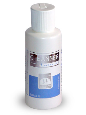 Preparat Cleanser. Przygotowanie skóry do zabiegu.