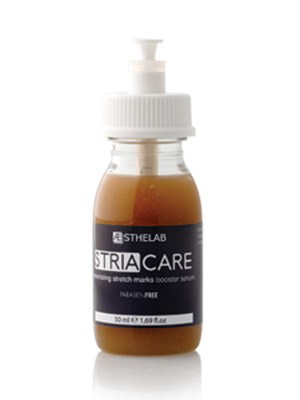 Serum STRIACARE. Usuwanie, minimalizowanie rozstępów.
